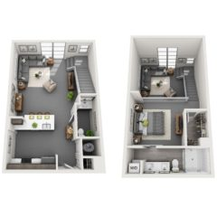 Apartment 101 floor plan