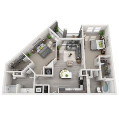 Apartment 428 floor plan