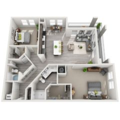 Apartment 439 floor plan