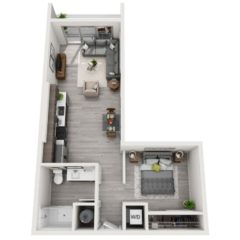 Apartment 345 floor plan